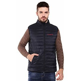 CONQUECO Men's Heated Vest Lightweight Warm Gilet Coat with Battery Pack for Outdoors At Amazon Men's Clothing Store: