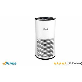 LEVOIT Air Purifier for Home Large Room with True HEPA Filter, Air Cleaner for Allergies and Pets, Smokers, Mold, Pollen, Quiet Odor Eliminators for Bedroom, Full Room, 538 Sq. Ft,LV-H133