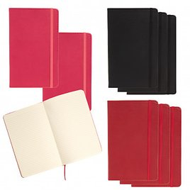 """3pk Leatherette 240pg Journals By C.R. Gibson – 5.25"""" X 8.25"""""""