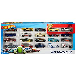 Hot Wheels 20-Car Collector Gift Pack (Styles May Vary)