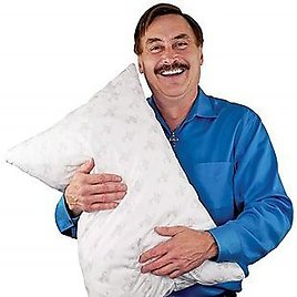 MyPillow Classic Standard Size Pillow 18.5 X 26, Your Choice of Medium or Firm