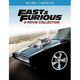 Fast & Furious 8-Movie Collection Blu-ray + Digital