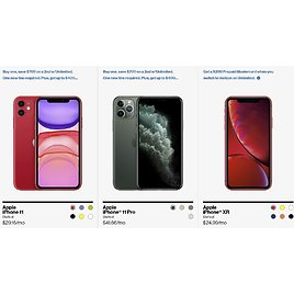 Up to $750 Off 2 Smartphones + $200 Gift Card Per Line If You Switch to Verizon on Unlimited