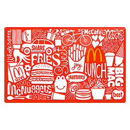 Buy a Discounted McDonald's Gift Card