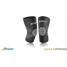 Webb Locke Knee Brace Compression Sleeve [2 Pack] - Knee Sleeves for Women&Men,Knee Support for Arthritis,ACL,Running,Biking,Basketball,Joint Pain Relief,Meniscus Tear,Faster Injury Recovery