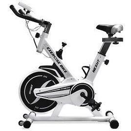 NexHT Fitness Sport Exercise Bike with LCD Display and Heart Pulse Sensors