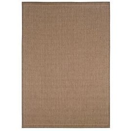 Home Decorators Collection Saddlestitch Cocoa/Natural 2 Ft. X 4 Ft. Area Rug