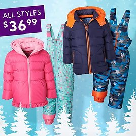 Pink Platinum, IXtreme & Wippette Hooded Puffer Jackets