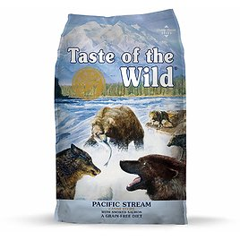28 Lb. Taste of The Wild Pacific Stream Natural Dry Dog Food with Real Smoked Salmon