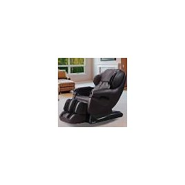 TITAN Pro Series Brown Faux Leather Reclining Massage Chair TP-8500BROWN