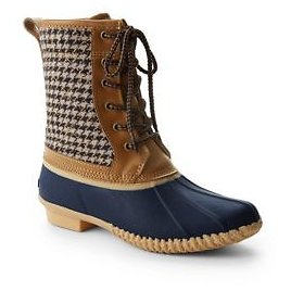 Women's Insulated Sherpa Lined Duck Boots