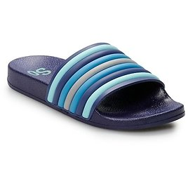 SO® Striped Injected Women's Slide Sandals