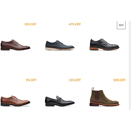 Clarks Sale of Up to 50% + An Extra 25% Off