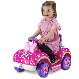 Disneys Minnie Mouse Toddler Ride-On Toy