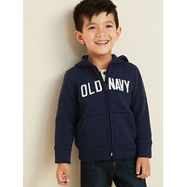 Logo-Graphic Zip Hoodie for Toddler Boys   Old Navy