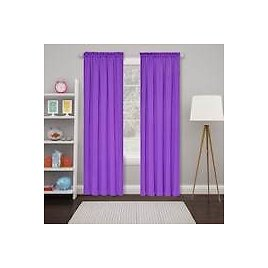 2-Pack of Eclipse Tricia Thermaweave Window Curtains