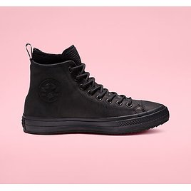Chuck Taylor All Star Waterproof Leather High Top Unisex Boot. Converse