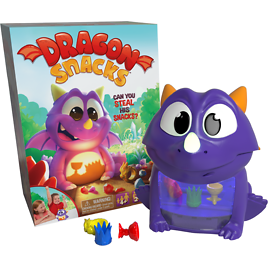Dragon Snacks Family Game for Ages 4+