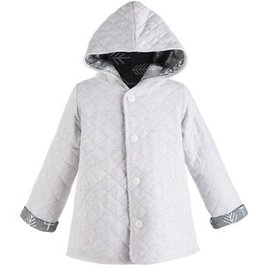 First Impressions Toddler Boys Hooded Reversible Quilted Cotton Jacket