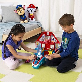 PAW Patrol Super Mighty Pups Jet Command Center