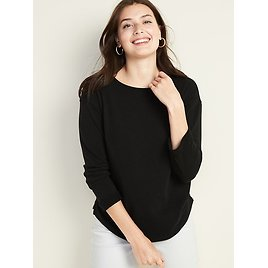 Loose French Terry Top (3 Colors)