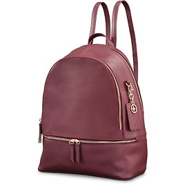 Ladies Leather City Backpack