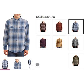 Men's and Big Men's Long Sleeve Super Soft Flannel Shirt, Up to Size 3Xlt