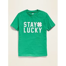 St. Patrick's Day Crew-Neck Tee for Boys | Old Navy