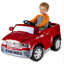 Dodge Ram 1500 Ride-On Toy by Kid Trax