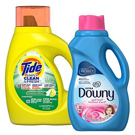 $2.49 Tide Simply or Downy  Detergent