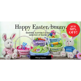 Up to 60% Off Easter Decorations, Gifts & Easter Basket Ideas