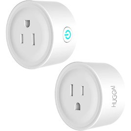 WIFI Smart Plugs - 2 Pack Works with Alexa, Google Home, IFTTT