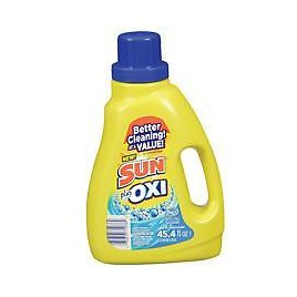 Sun Liquid Oxi Fresh Laundry Detergent ONLY $2 Each + FREE Shipping At Walgreens