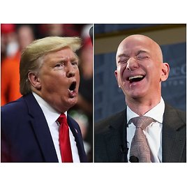 Trump Challenged Amazon to 'build Their Own Post Office' If The Company Balks At His Idea of Getting Charged Up to 5 Times More in Shipping Rates As Part of a USPS Bailout