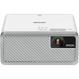 Epson EF-100 Smart Streaming Laser Projector with Android TV - White / Black