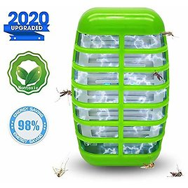 Bug Zapper Mosquito Killer Lamp- 2020 New Electronic Insect Trap Night Light Pest Control Repellent, Eliminates Most Flying Pests for Home Use Indoor : Garden & Outdoor