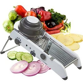 Vinipiak 9 in 1 Vegetable Chopper Mandoline Slicer Dicer for Onions Tomatoes and Bell Peppers Kitchen Manual Vegetable Spiral Slicer with Free Cut-Resistant Gloves green