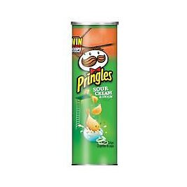 Pringles Chips Sour Cream And Onion