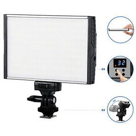 US STOCK Tolifo PT-15B Video Light Dimmable OnCamera Photography For Canon Nikon