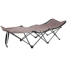 Ozark Trail Collapsible Camp Cot, Beige
