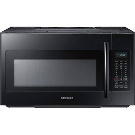 Samsung 1.8 Cu. Ft. Over-the-Range Microwave with Sensor Cooking Black ME18H704SFB
