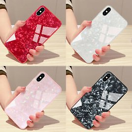 Glass Back Case IPhone 11 Pro Max XR SE Generation 2020 Cover IPhone 6 7 8 Plus