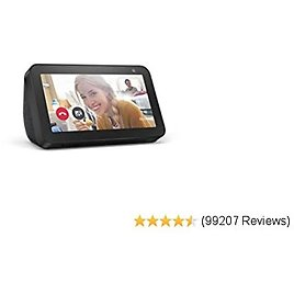 Echo Show 5 - Smart Display with Alexa – Stay Connected with Video Calling - Charcoal