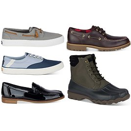 Sperry Women's and Men's Footwear Starting At ONLY $27.93 + FREE Shipping (Reg $65)