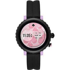 Kate Spade New York Women's Scallop Sport Metal and Silicone Touchscreen Smartwatch