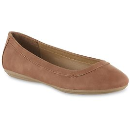 Simply Styled Simply Styled Women's Bri Ballet Flat - Tan