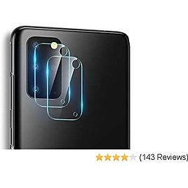 ESR Camera Lens Protector Compatible with Galaxy S20 Plus (2-Pack) [Scratch-Resistant] [Fingerprint-Resistant] [Ultra-Thin] Flexible Glass Camera Protector for The Samsung Galaxy S20 Plus (2020)