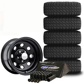 Pro Comp XMT2 Tire 35x12.50R15 and Trail Master TM9 Wheels 15x8 Package - TIREPKG145