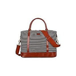 Weekender Tote Bag with Shoe Compartment