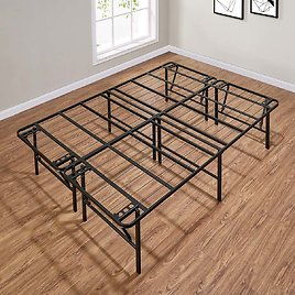 """Mainstays 18"""" High Profile Foldable Steel Bed Frame"""